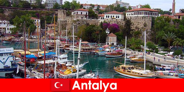 Турция Анталия, курорт на побережье Средиземного моря