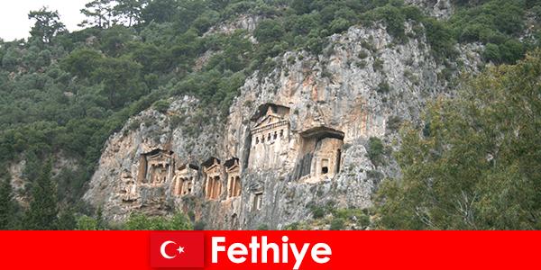 Фетхие город на юго-западе Турции