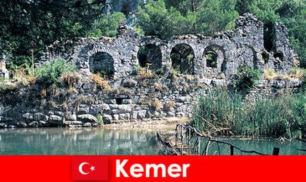 Кемер представляет европейскую часть Турции