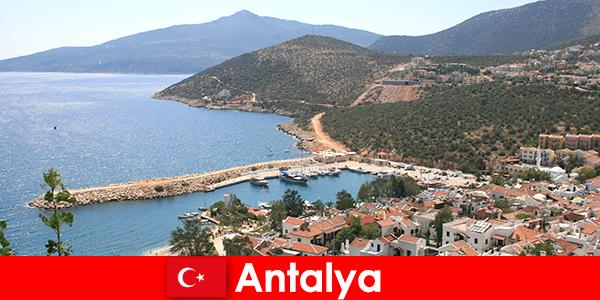 Пляжи в Анталии Турция