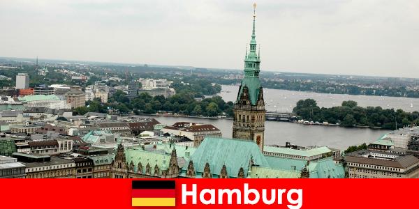 Путешествия и развлечения в Репербан в городе Гамбург