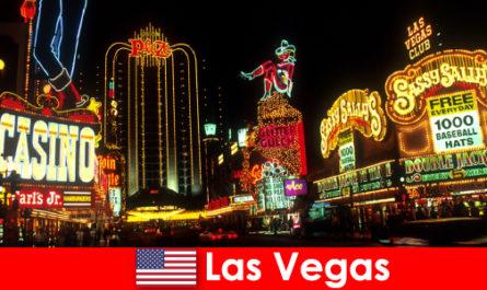 Развлечения в Лас-Вегасе и советы для путешественников