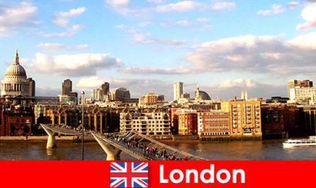 Активный отдых для туристов в городе Лондон из Англии