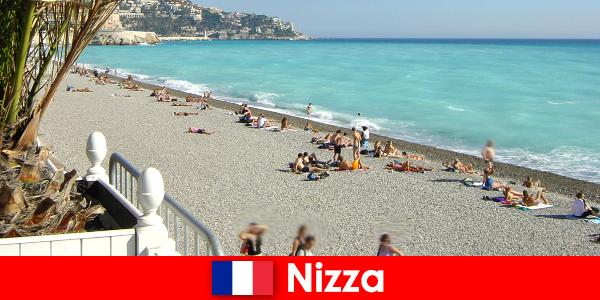 Красивые пляжи Французской Ривьеры