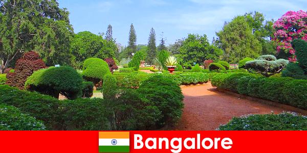 Отдыхающие в Бангалоре любят успокаивающие красивые парки и сады