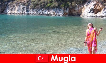 Пляжный отдых в Мугле, одной из самых маленьких провинциальных столиц Турции
