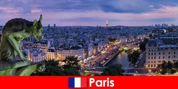 Париж город художников с особым очарованием для зданий