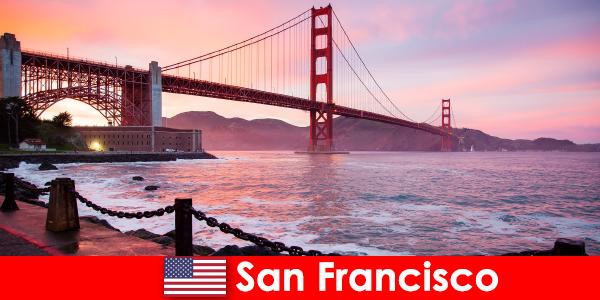 Опыт роскошных каникул в Соединенных Штатах Сан-Франциско
