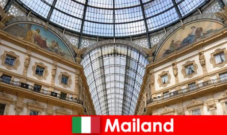 Таинственная атмосфера Милана с символами эпохи Возрождения