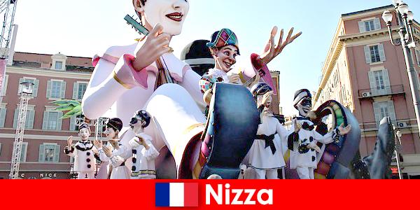 Туристическая достопримечательность в Ницце с детьми и замечательными достопримечательностями