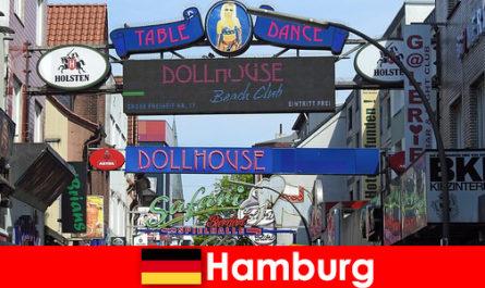 Гамбург Репербан - Ночные бордели и эскорт-услуги для секс-туризма