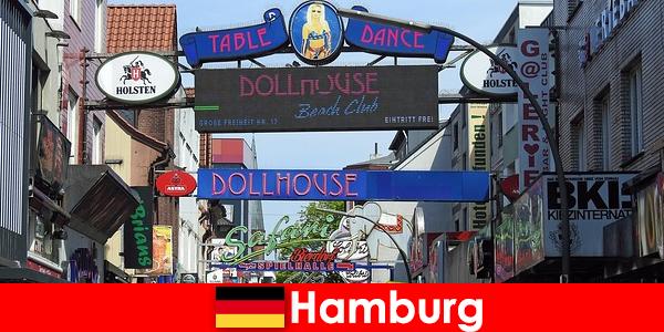 Гамбург Репербан — Ночные бордели и эскорт-услуги для секс-туризма