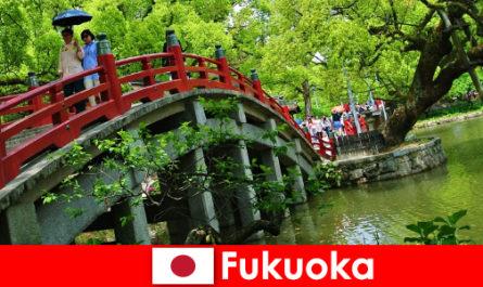 Для иммигрантов Фукуока - это непринужденная интернациональная атмосфера с высоким качеством жизни.