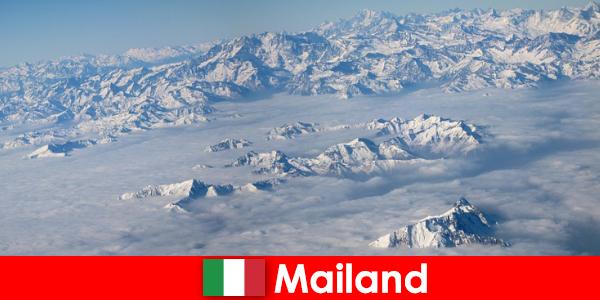 Милан - один из лучших горнолыжных курортов Италии для туристов