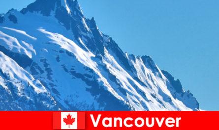 Город Ванкувер в Канаде - главное направление альпинистского туризма.