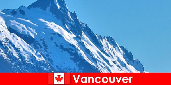 Город Ванкувер в Канаде — главное направление альпинистского туризма.