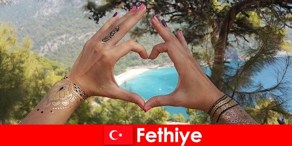 Пляжный отдых в Турции Фетхие для молодых и старых всегда мечта