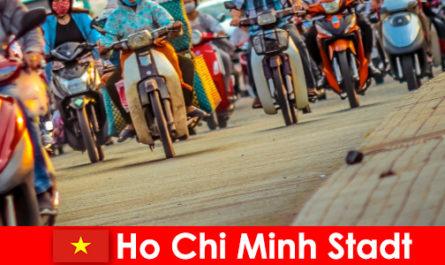 Хошимин всегда доставляет удовольствие велосипедистам и любителям спорта.