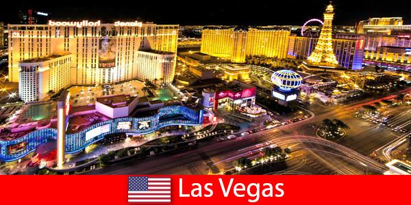 Ослепительный игровой рай в Лас-Вегасе, США, для гостей со всего мира.