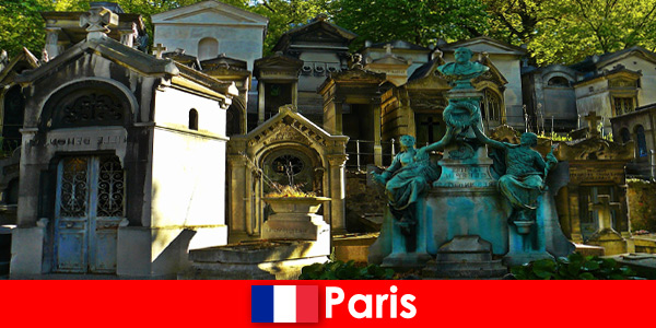 Путешествие по Европе для любителей кладбищ с необычными могилами во Франции Париж