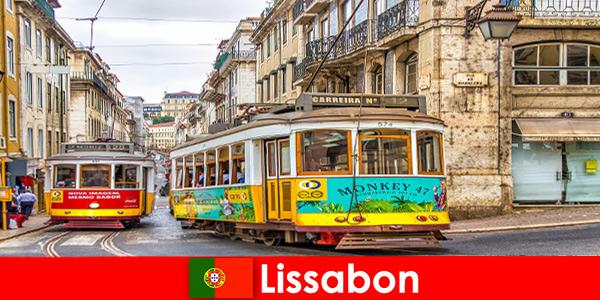 Исторические улицы Лиссабона Пор-тугалия с ноткой ностальгии по культурным путешественникам