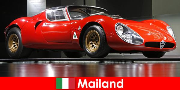 Милан Италия всегда была популярным местом для путешествий автолюбителей со всего мира.