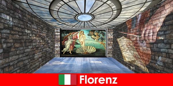 Городская поездка во Флоренцию Италия для любителей искусства старых мастеров.
