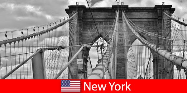 Спонтанная поездка за границу в мегаполис Нью-Йорк США