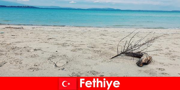 Релаксационная поездка для стрессовых туристов на Турецкой Ривьере Фетхие.