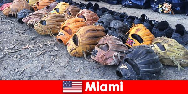 Отдых мечты для путешественников в спортивных парках Майами США
