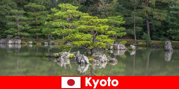 Японские сады приглашают иностранных гостей на расслабляющие прогулки по Киото