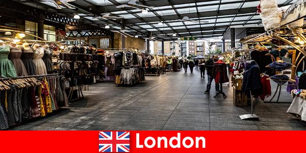Лондон, Англия — популярный адрес шоппинговых туристов.