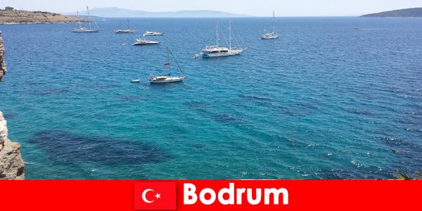 Роскошный отдых для иностранцев в красивых бухтах Бодрума, Турция